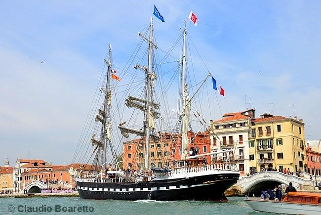 Trois BelemVoilier Venise Venisejetaime Mâts BarqueÀ Arrivee Du JTKclF1