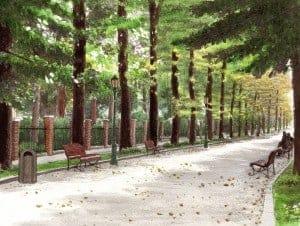 L'automne Viale Garibaldi