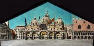 Le tryptique San Marco pour gondole