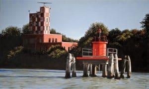 La tour de navigation du Lido